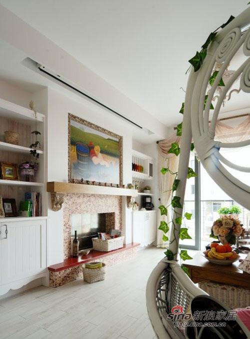 新古典 一居 客厅图片来自用户1907701233在狠砸6.5W打造87平清新阳光田园居78的分享