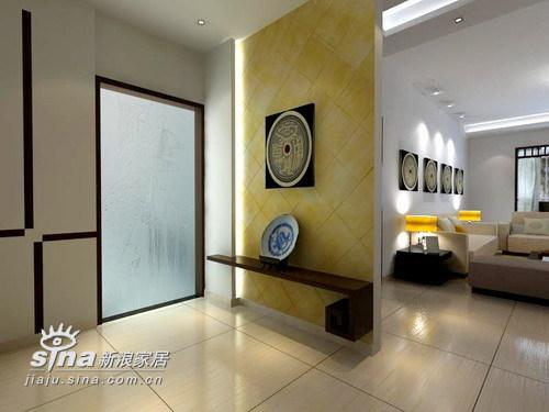 中式 三居 玄关图片来自用户2737751153在芙蓉家园158的分享