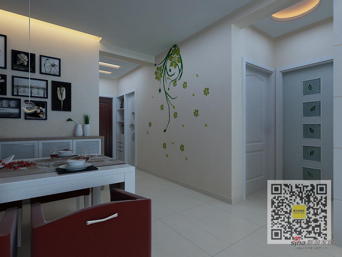 简约 二居 厨房图片来自用户2739153147在公园一号简约风格两居室53的分享