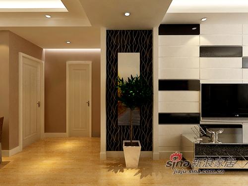 简约 二居 客厅图片来自用户2738093703在6万现代简约96平温馨爱家64的分享