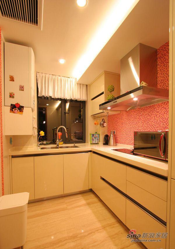 现代 三居 厨房图片来自装修微日记在【高清】114平古朴典雅现代3居室64的分享