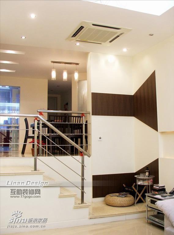 简约 别墅 楼梯图片来自用户2738093703在简约风格联体别墅40的分享