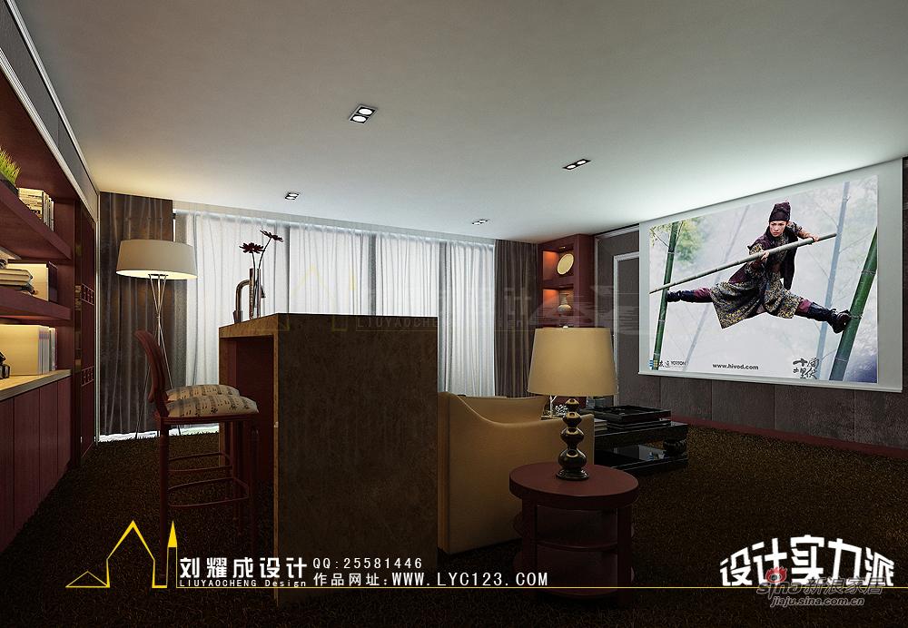 中式 复式 其他图片来自用户1907658205在【高清】新中式的贵族复兴300平复式楼30的分享