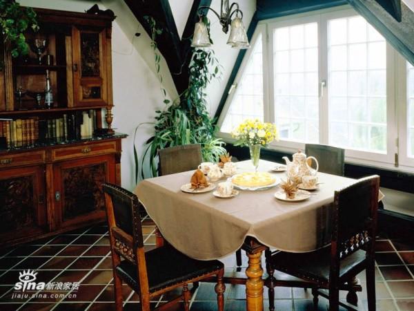 欧式 其他 餐厅图片来自用户2757317061在田园风格新时尚 家居的自然清新原色(三)99的分享