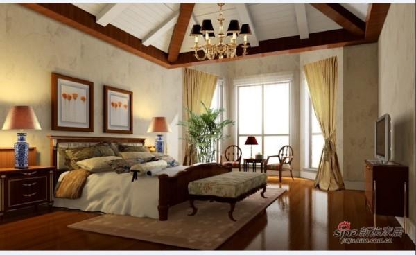 欧式 三居 卧室图片来自用户2746953981在22万装121平品质现代简约三居室98的分享