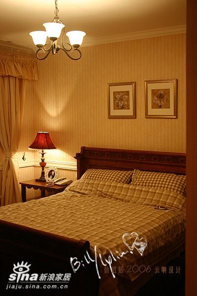 欧式 二居 卧室图片来自用户2557013183在欧式装修样板间图片集锦52的分享