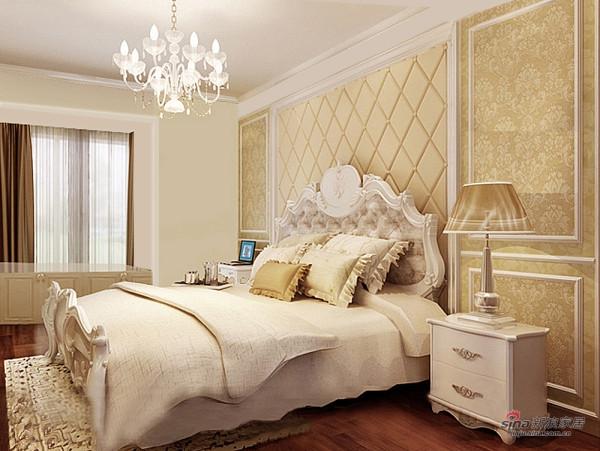 主卧室简欧风格设计效果图