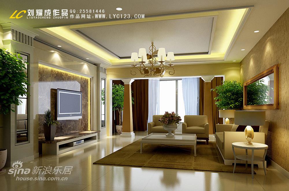 欧式 四居 客厅图片来自用户2746948411在150平北非风情家居设计13的分享