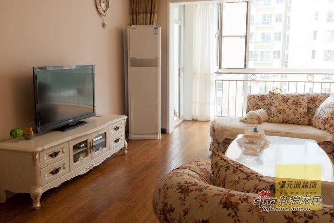 田园 三居 客厅图片来自用户2557006183在7万装简约温馨110平三居室71的分享