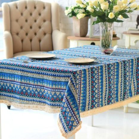 波西米亚的桌布就是不同凡响