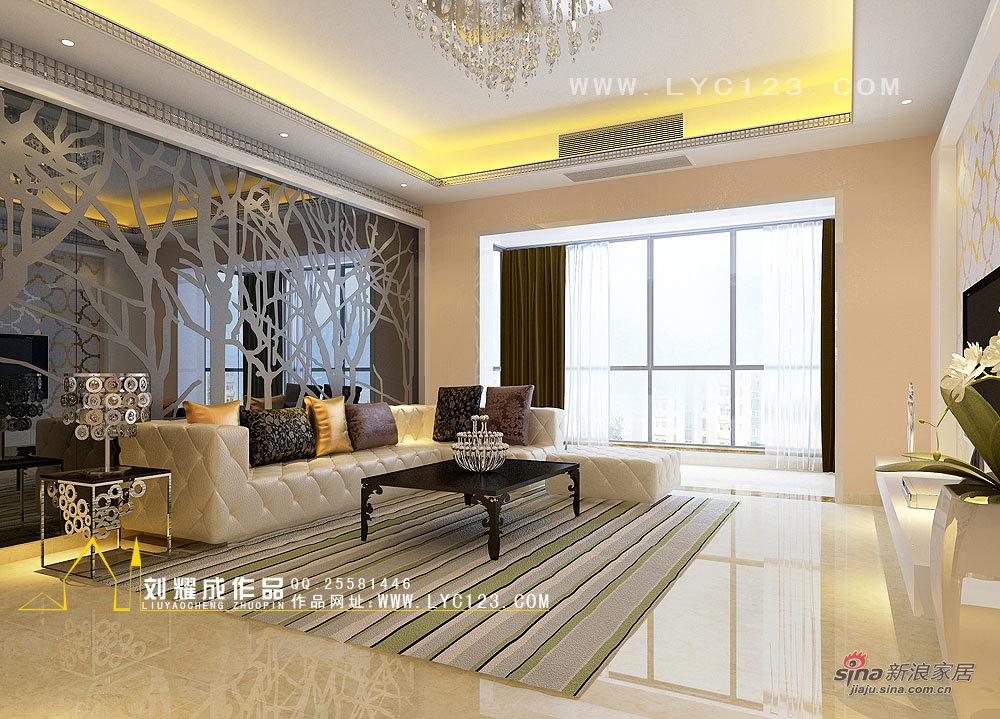 欧式 复式 客厅图片来自用户2772873991在【高清】30万装260平我和春天有个约会68的分享