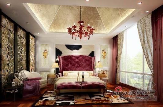 欧式 别墅 卧室图片来自用户2557013183在简欧风格龙湾别墅设计32的分享
