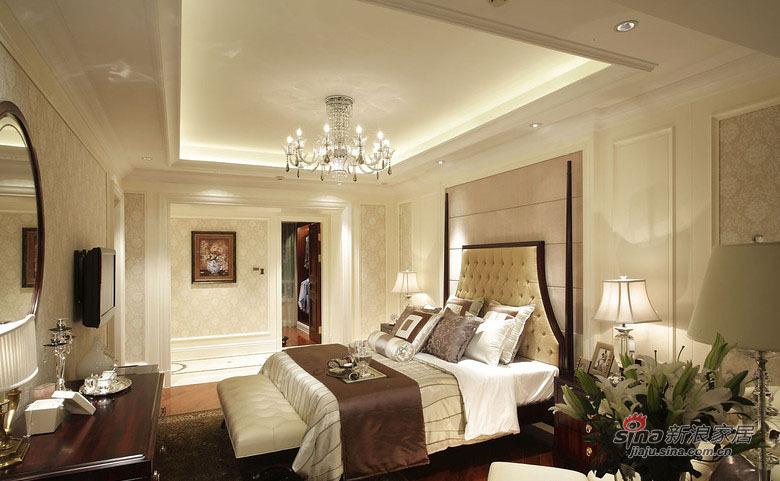 美式 三居 卧室图片来自佰辰生活装饰在9万打造120平时尚美式三口之家81的分享