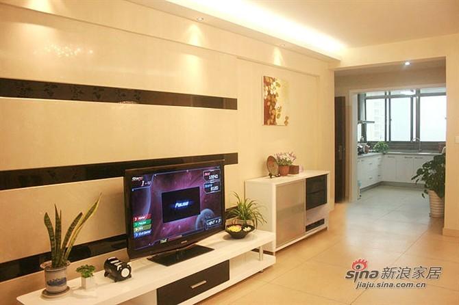 简约 三居 客厅图片来自用户2739378857在IT男10万装130平简约婚房44的分享