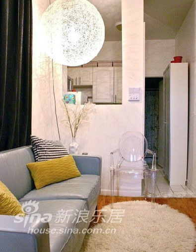 其他 一居 客厅图片来自用户2771736967在单身贵族26平米超迷你时尚蜗居84的分享