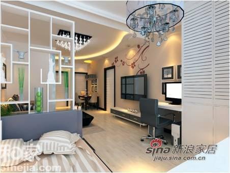 简约 二居 卧室图片来自用户2738845145在80后白领6万简约幸福婚房23的分享