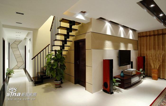 中式 别墅 楼梯图片来自用户2740483635在现代中式风格作品47的分享