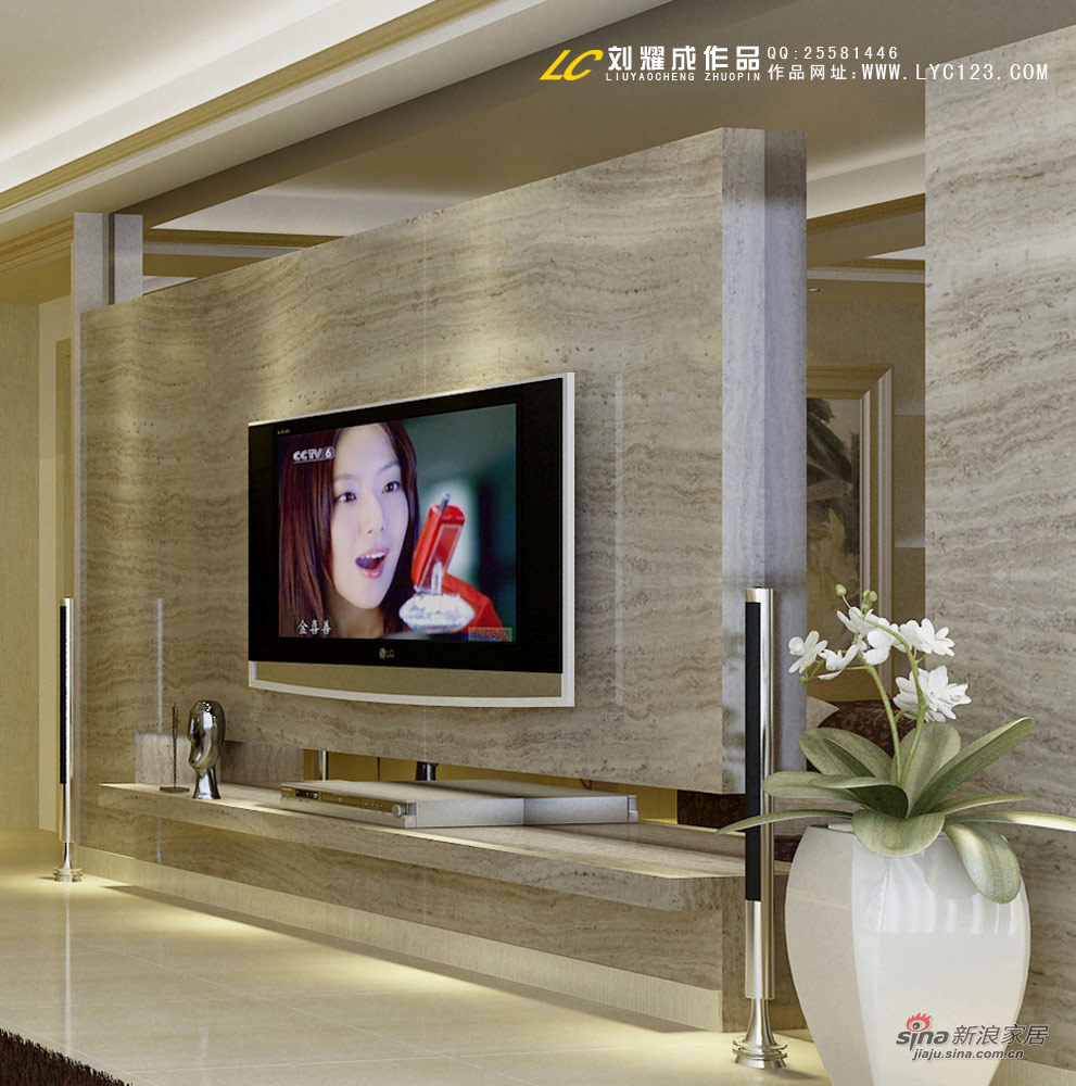 欧式 复式 客厅图片来自用户2746953981在君悦现代简欧专属别墅设计54的分享