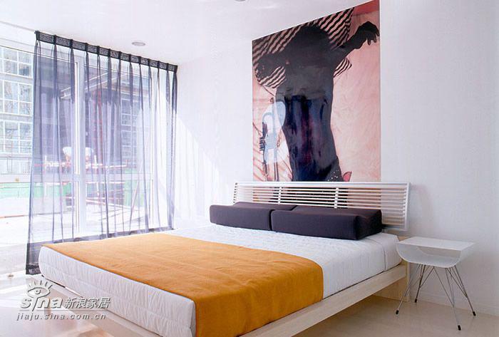 简约 四居 卧室图片来自用户2737950087在SOHO一族的简约之家33的分享