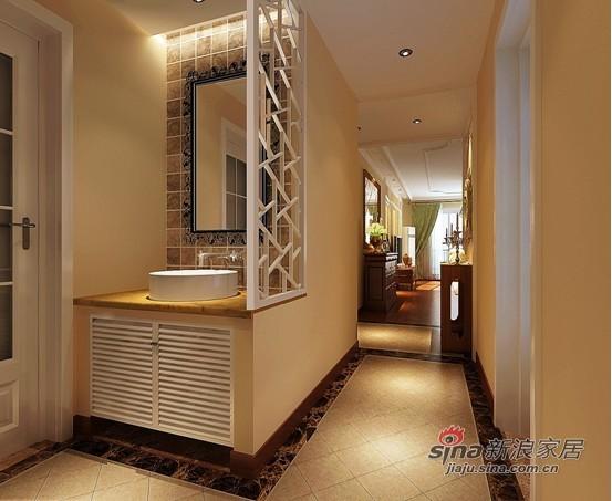 次卫生间墙面镂空设计效果