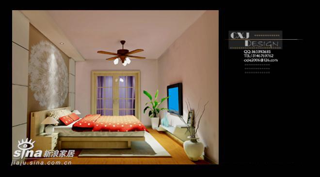 简约 一居 卧室图片来自用户2558728947在小户型66的分享