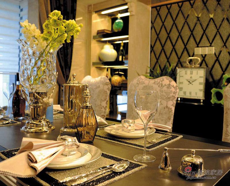 欧式 别墅 餐厅图片来自用户2746869241在新古典奢华风格——锦园样板房二84的分享