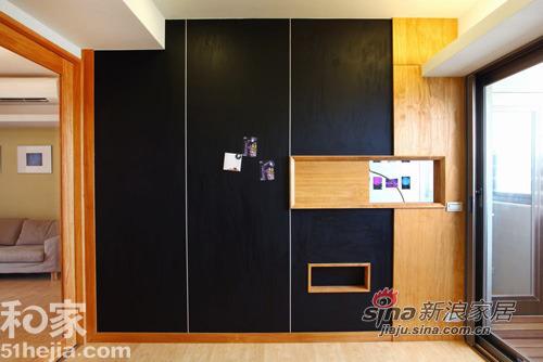简约 三居 卧室图片来自用户2737782783在原木打造89平返璞归真的简单生活家64的分享