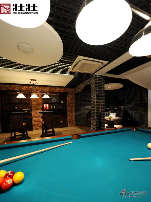 地下室之台球桌