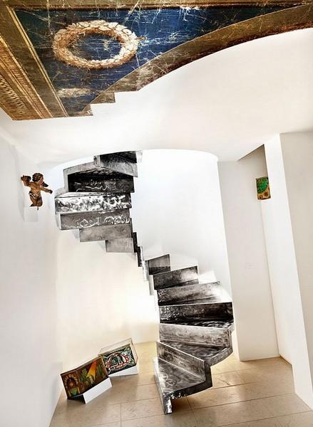 意大利新老结合阁楼设计