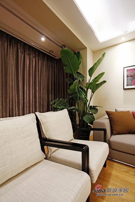 简约 三居 客厅图片来自用户2738829145在6.7万打造88平米现代时尚靓家25的分享