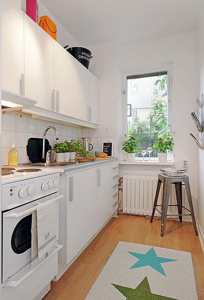 宜家 厨房图片来自用户2771736967在简单而自然 17个北欧乡村风格厨房装修的分享