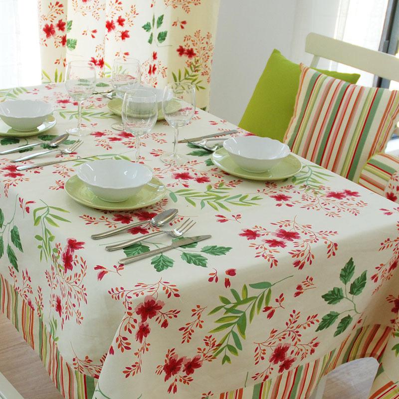 台布 餐桌 小清新 小资图片来自用户2739378857在生机盎然 20款清新亮眼的厨房设计的分享