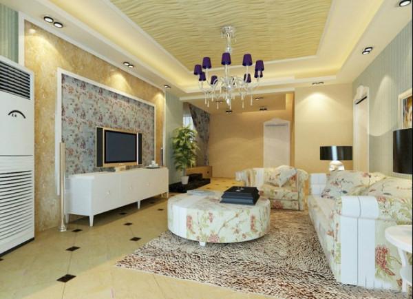 超美清新客厅设计图片 http://www.zhuangxiutuba.com/keting/