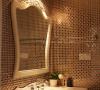 幻彩的马赛克效果,运用在卫浴里面也是如此