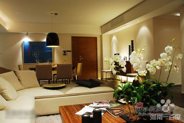 简约 二居 客厅图片来自用户2737950087在暖咖啡色调大气品质优质生活家74的分享