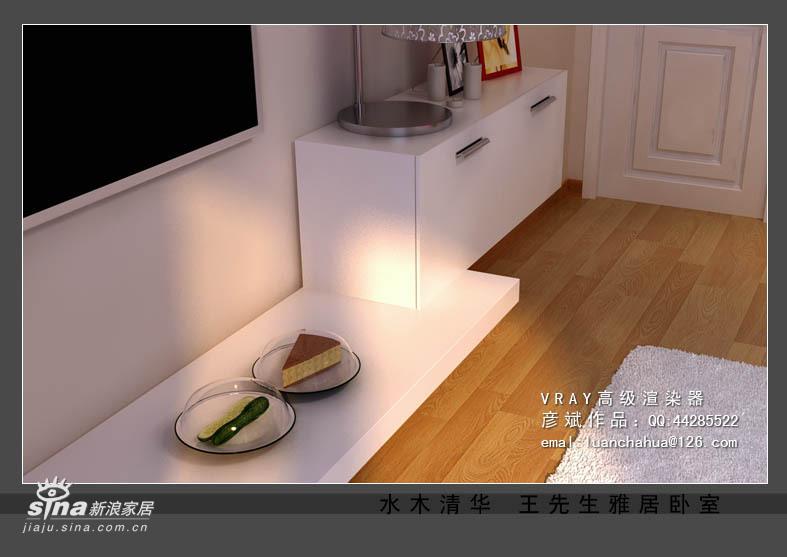 简约 三居 卧室图片来自用户2737735823在水木清华三居室27的分享