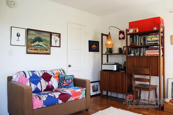 简约 三居 客厅图片来自用户2559456651在文艺女青年98平缤纷时尚居85的分享