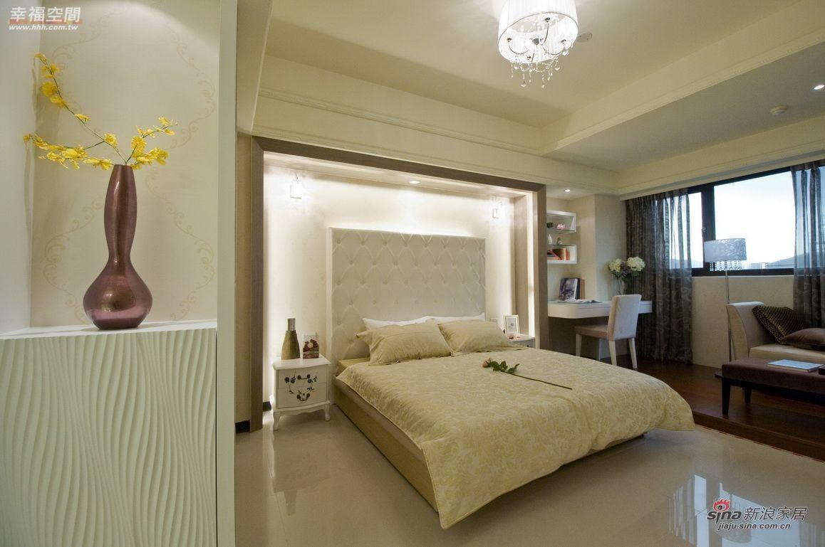 新古典 四居 卧室图片来自幸福空间在124平时尚艺术新古典风范96的分享