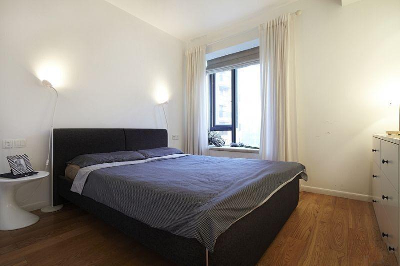 简约 二居 卧室图片来自用户2738845145在5.5万打造现代温馨舒适两居室81的分享