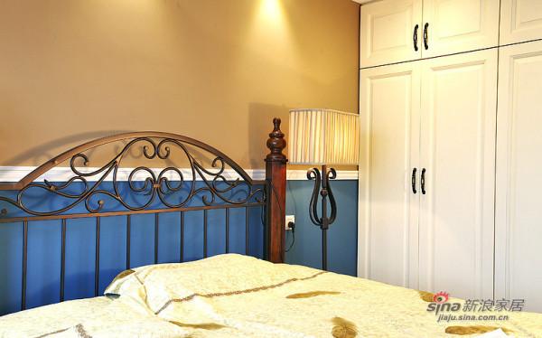 现代 三居 卧室图片来自装修微日记在【高清】9万打造101平现代雅致空间52的分享
