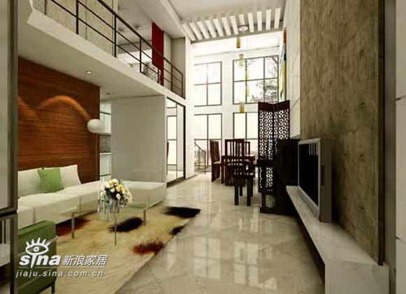一层客厅和餐厅