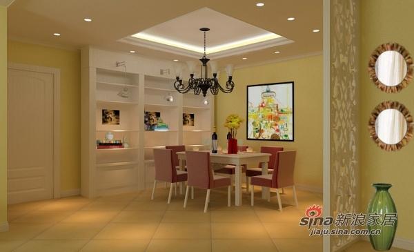 欧式 二居 客厅图片来自用户2772873991在6万打造低调奢华欧式2居97的分享