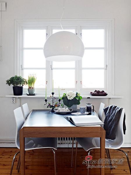 简约 二居 餐厅图片来自用户2737782783在69平米的白木森林简洁公寓82的分享