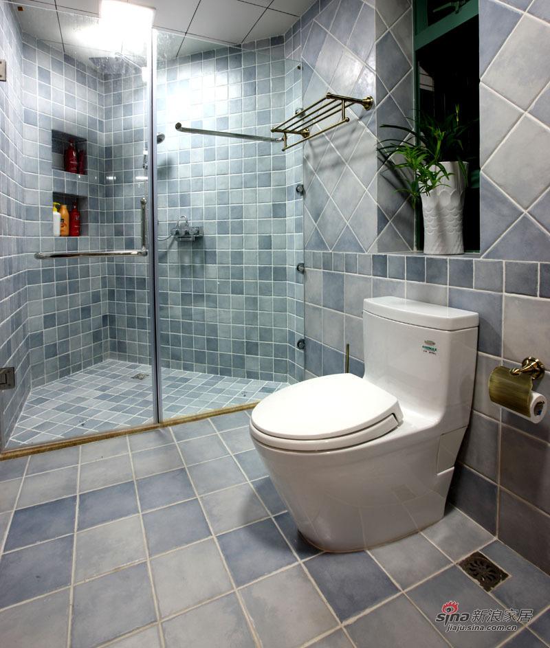 新古典 三居 卫生间图片来自用户1907701233在220平简约中式高雅三居 传统文化的捕捉88的分享