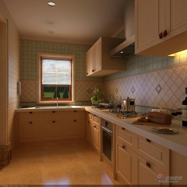 欧式 四居 厨房图片来自用户2745758987在【高清】奢华主义欧式风格77的分享