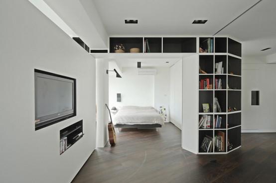 台北家居设计带来的白净素雅之感