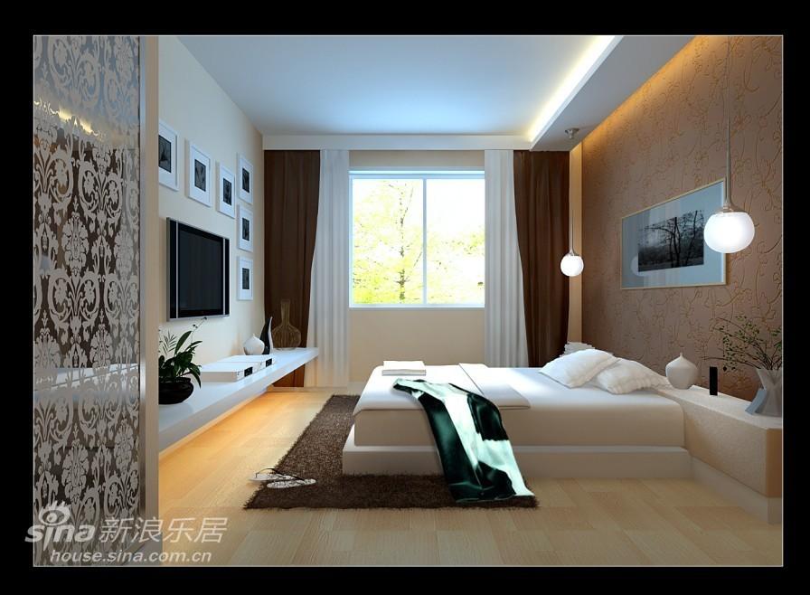 简约 二居 卧室图片来自用户2738829145在东方太阳城琴湖湾简约风格69的分享