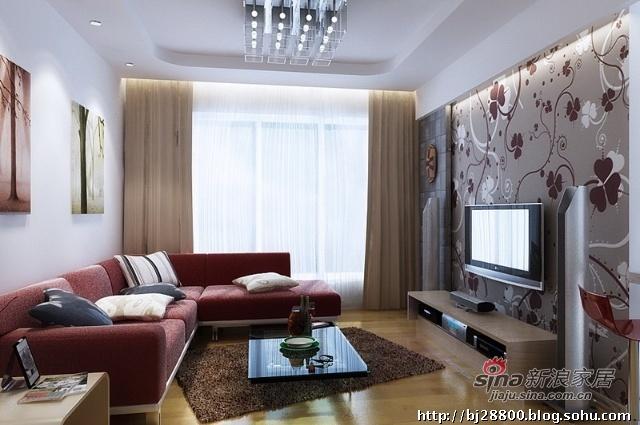 简约 一居 客厅图片来自用户2556216825在75平简约温馨给力大一居41的分享