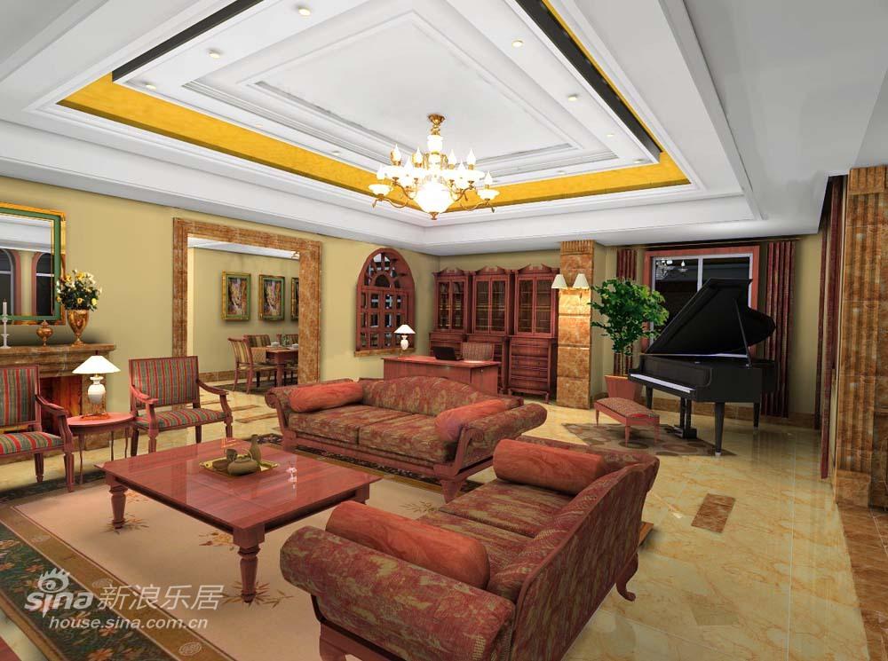 欧式 二居 客厅图片来自用户2745758987在轻舟新古典欧式21的分享
