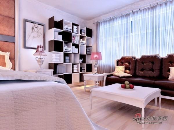 卧室艺术架